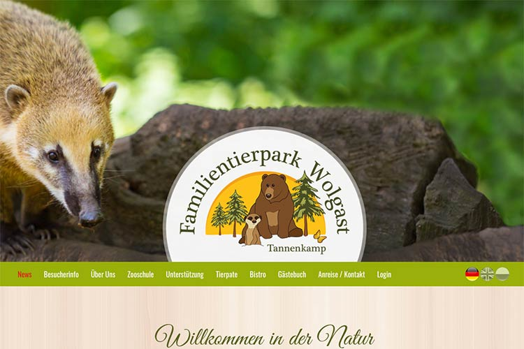 Tierpark in Wolgast